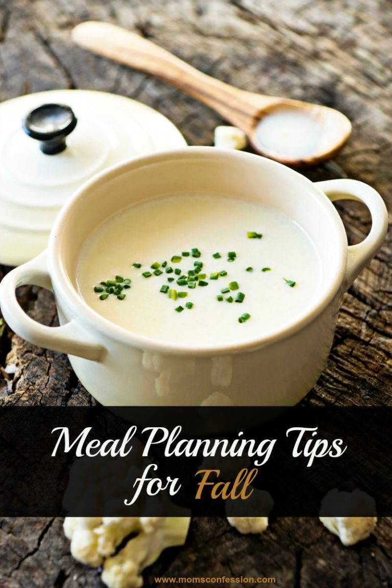 Meal Planning Tips for Fall
