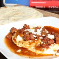 Huevos Rancheros with a Twist