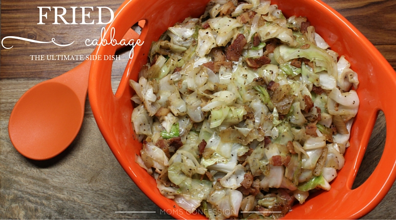 Bacon, Cabbage, Onion and seasoning...it's Fried Cabbage season! Try this recipe tonight!