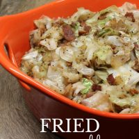 Fried Cabbage - the ultimate side dish