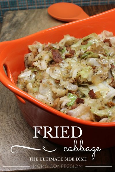 Fried Cabbage – the ultimate side dish