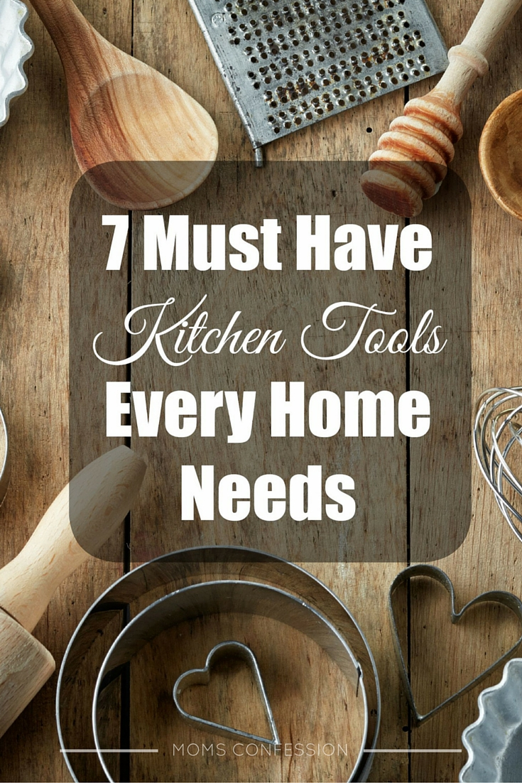 Kitchen Tools: Don't miss out on our list of the Top 7 Must-Have Kitchen Tools Every Home Needs! This list will make it easy to prepare delicious meals!