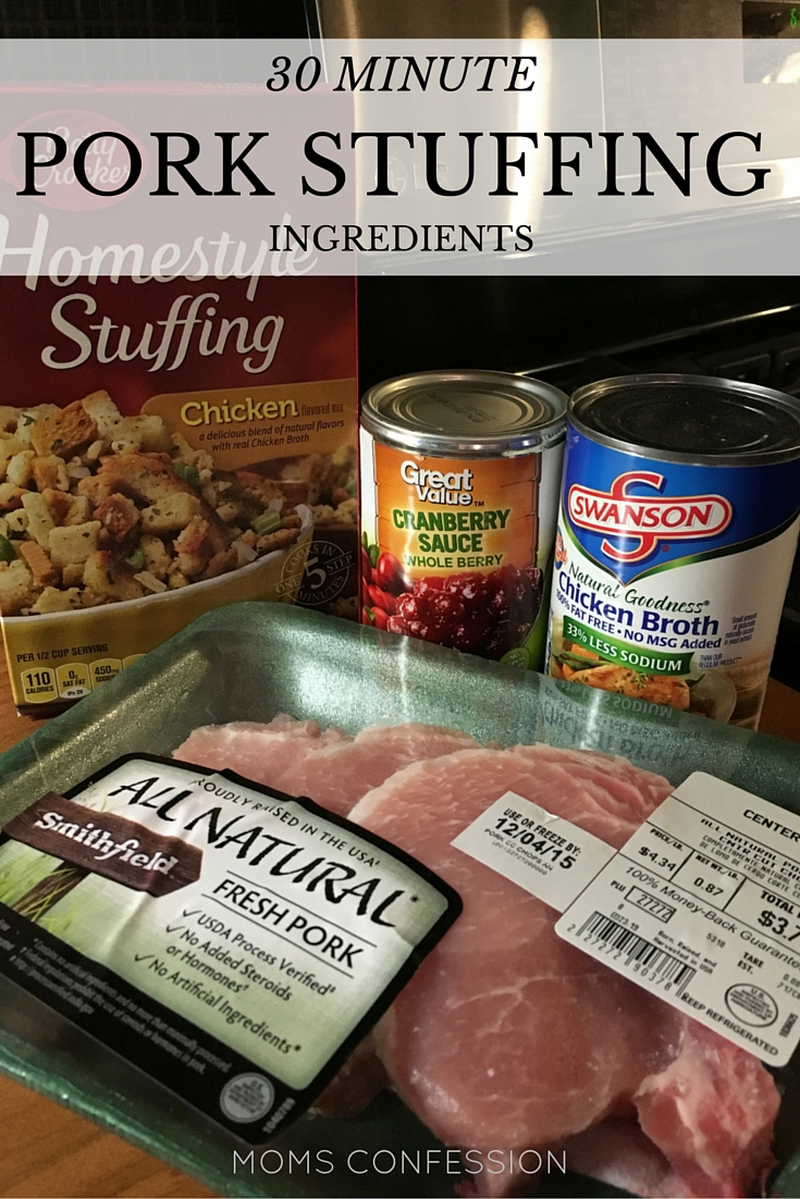 Pork stuffing like this 30 minute recipe is perfect for fall and Thanksgiving gatherings. Use these simple ingredients to make this easy recipe.