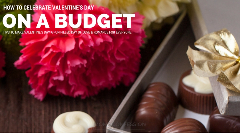 Learn how to celebrate Valentine's Day on a budget. Use these frugal tips for Valentine's Day to make the day fun filled and full of love for everyone!