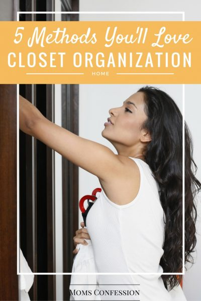 5 Closet Organization Methods You'll Love