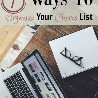 Don't miss our top Ways To Organize your chores list! Make cleaning your house much easier to manage! Follow our tips for an easy chores routine!