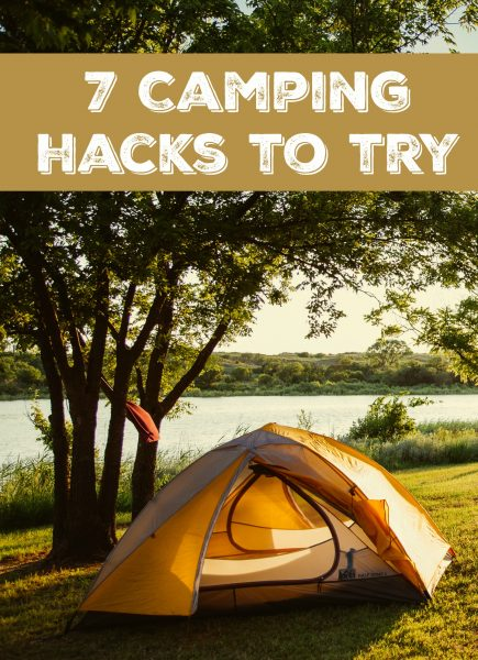 Simple Camping Hacks to Save Time & Money