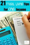 Frugal Living Tips for One Income