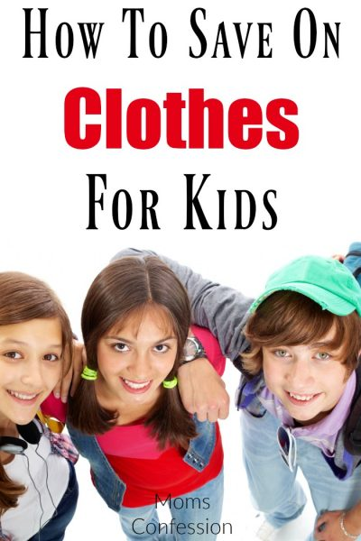 How To Save On Clothes For Kids