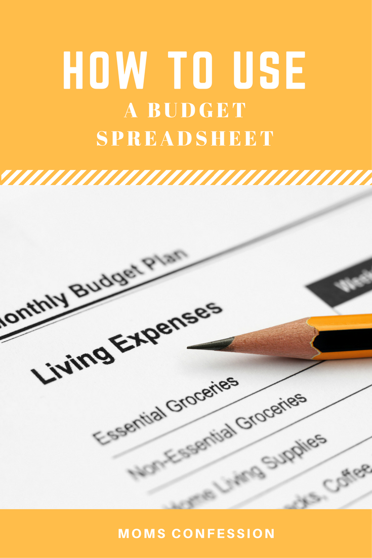 Check out our tips for How To Use A Budget Spreadsheet to keep your income and expenses in line! This is a perfect way to help you pay down debt!