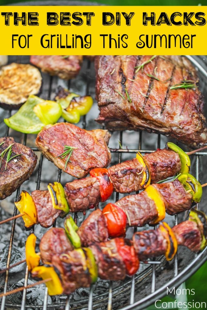 Don't miss our Top DIY Hacks For Grilling this summer! Tons of great idea to make you the King or Queen of the BBQ!