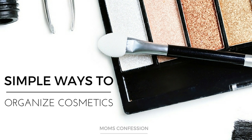 Don't miss our Top 7 Organizing Tips For Your Cosmetics! Your bathroom won't be messy anymore when you use our simple tips!