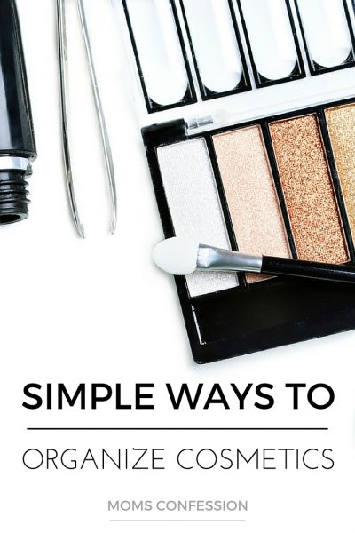 Simple Organizing Tips For Your Cosmetics