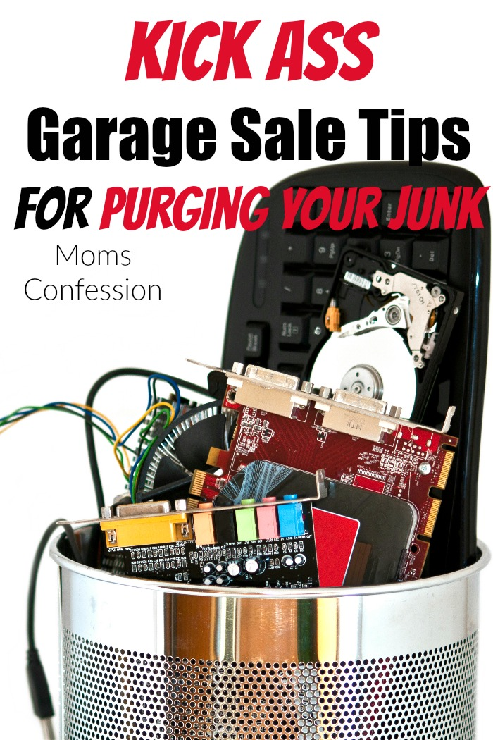 7 Kick Ass Garage Sale Tips For Purging Your Junk