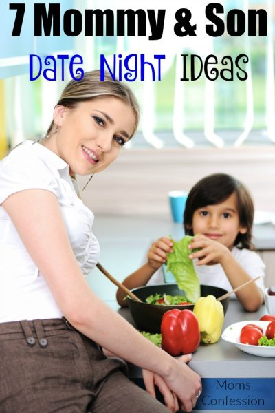 7 Mommy And Son Date Night Ideas