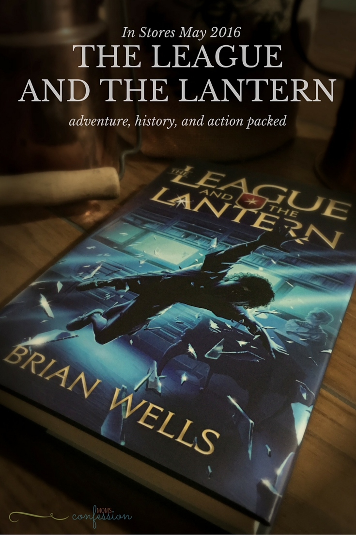 Take an action-packed adventure that's full of history with the launch of the new book for tweens. The League and the Lantern is a must read for boys and girls.