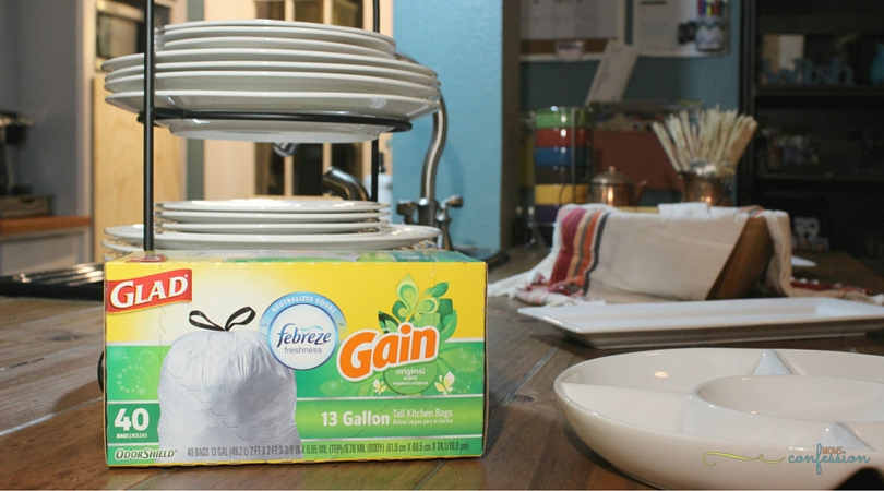 Keep your home smelling fresh with Glad Odor Odorshield Gain Original Scent trash bags, so you can rest assured that your trash will not be the culprit to your homes freshness factor when you are entertaining guests!