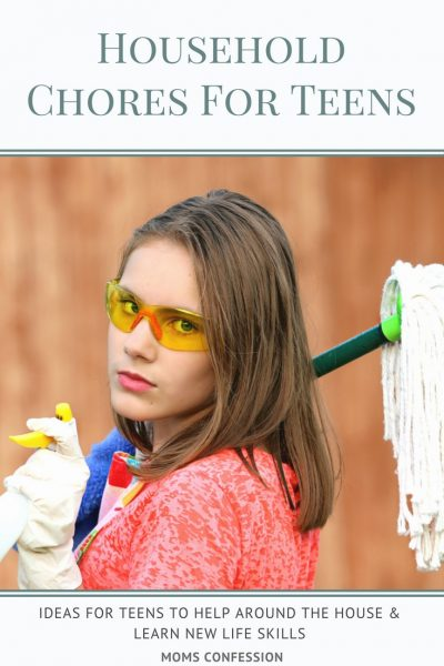 Household Chores like these Your Teens Should Be Doing will keep the kids busy during summer break, and help you stay on top of household organization!""