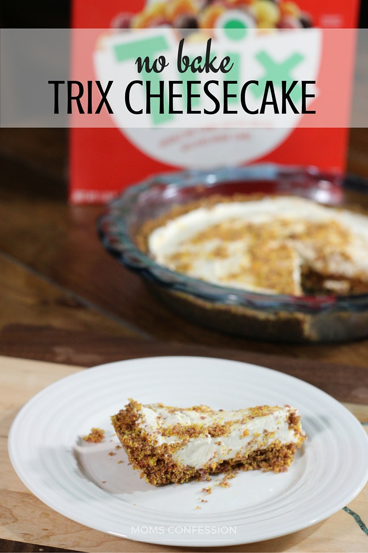 no bake trix cheesecake