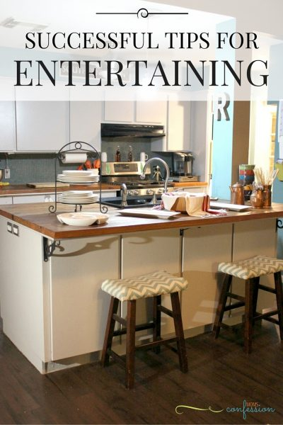 Successful Tips for Entertaining Guests Any Time of the Year