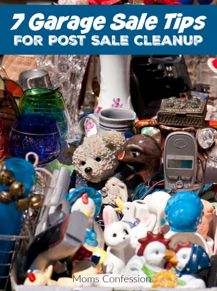 7 Garage Sale Tips For Post Sale Cleanup