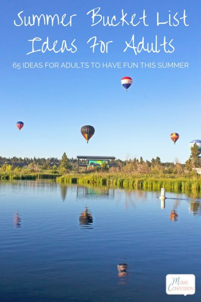 Summer Bucket List Ideas for Adults