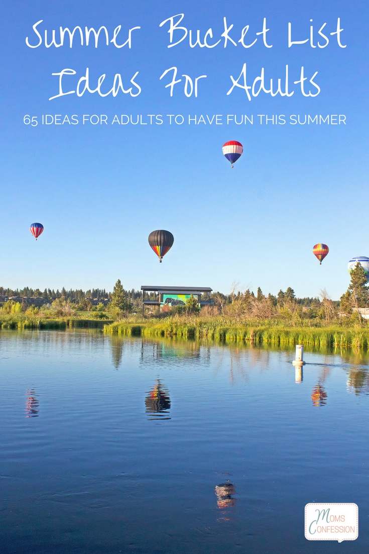 These 65 summer bucket list ideas for adults will add tons of fantastic fun all summer long and are even perfect for a weekend without the kids too!