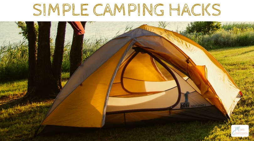 Don't miss our Top 7 Camping Hacks to try this summer! Great tips for saving you time, money and frustration while camping!