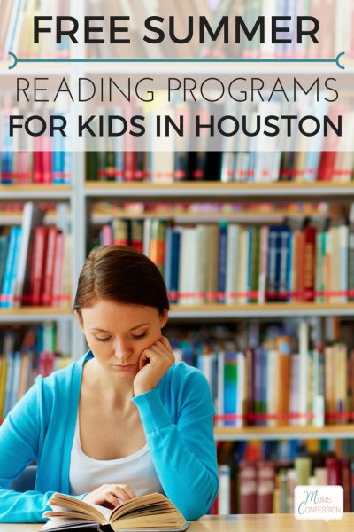 2017 Free Houston Area Summer Reading Programs for Kids