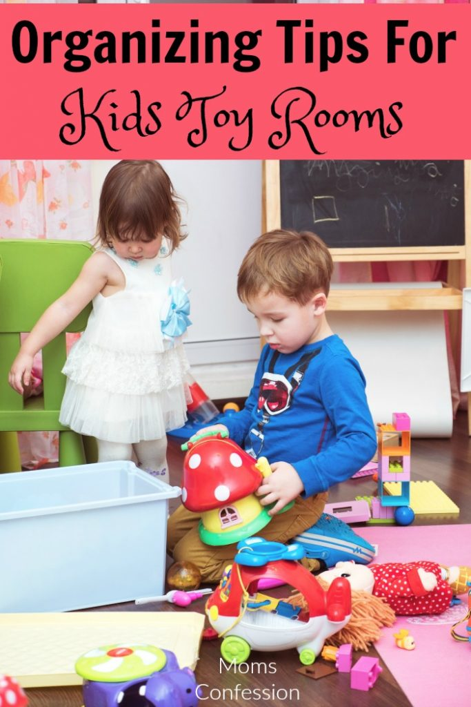 Don't miss our top Organization Tips for Kids Toy Rooms! These are a great way to keep your kids toys neat and orderly, but still accessible!