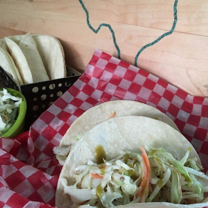 Tex-Mex Fish Tacos