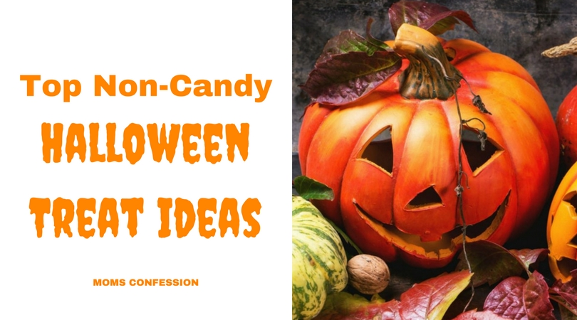 Top non-candy Halloween treat ideas on this list are easy and frugal for any family to pass out on this favorite holiday!
