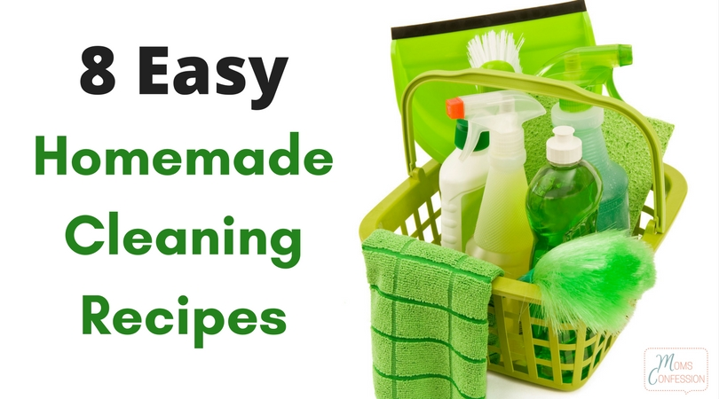 Homemade Cleaners save both time and money! Grab our Top Easy Homemade Cleaners to keep chemicals out of your home and save money on your household budget!