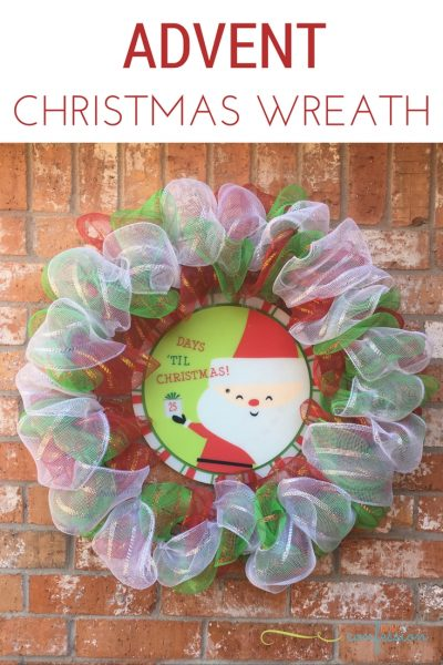 DIY Advent Christmas Wreath