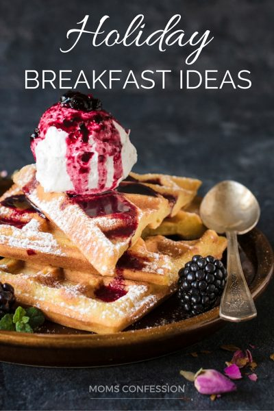 These holiday breakfast ideas are just what you need to plan for Thanksgiving or Christmas breakfast! Tons of great holiday breakfast ideas to satisfy!