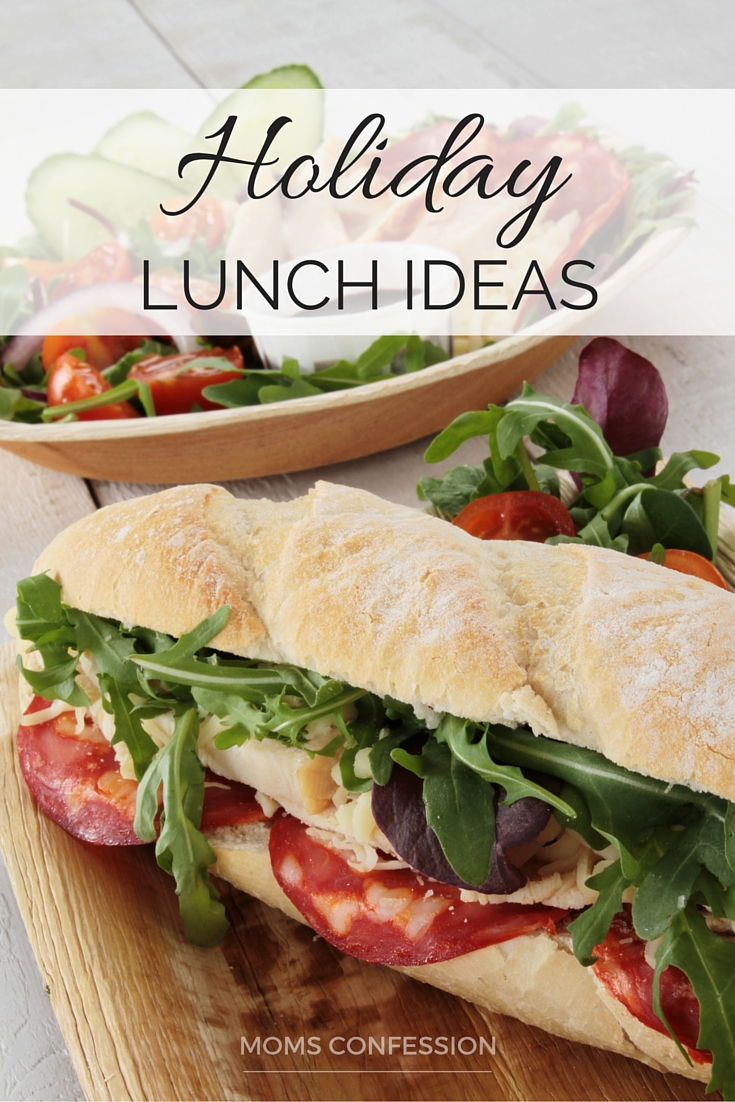 Holiday Lunch Ideas