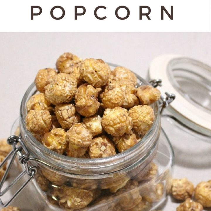 Is there anything better than Christmas movies and the butterbeer popcorn? No, then you need this butterbeer popcorn recipe in your life today!