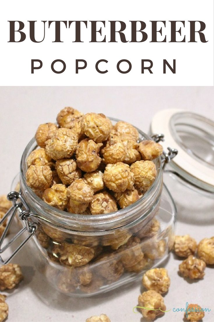 Harry Potter Inspired Butterbeer Popcorn Recipe