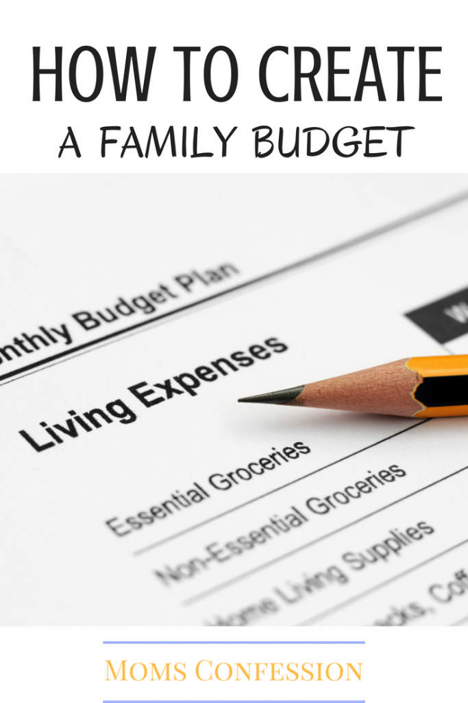 how to create a budget for your family that works for you