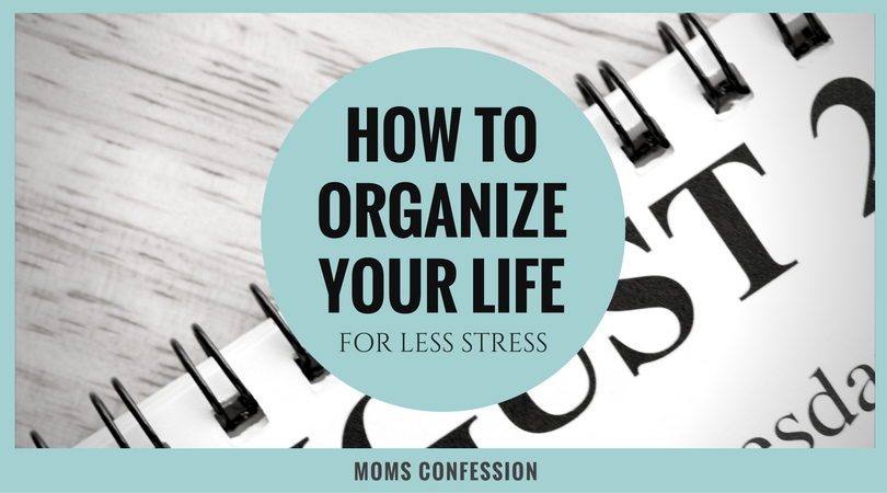 How to organize your life is easier than you think! Check out these great tips to start today on your journey to a newly organized life making things easy!