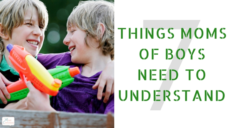 Check out these 7 Things Moms With Boys Need To Understand to survive the rough and tumble dirty and disorderly days ahead!