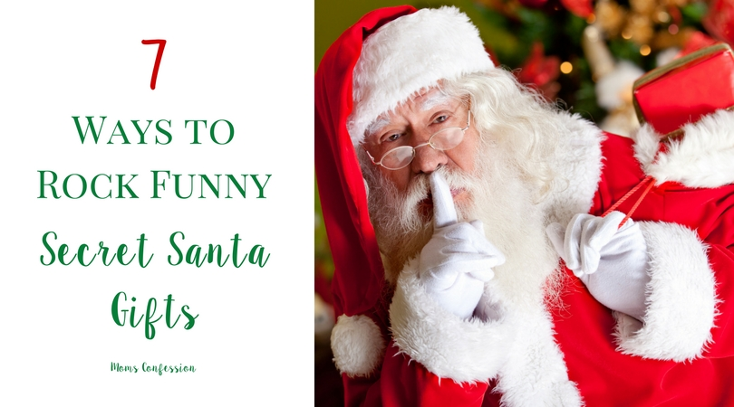 These 7 Ways To Rock Funny Secret Santa Gifts are perfect for making your holiday parties easy to manage! Check out our great gift ideas for any budget!