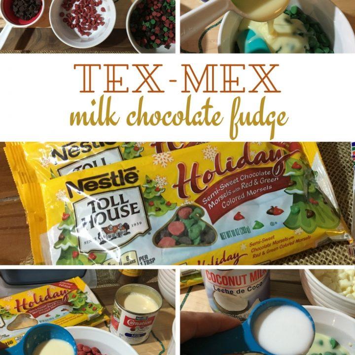 Tex-Mex Condensed Milk Fudge