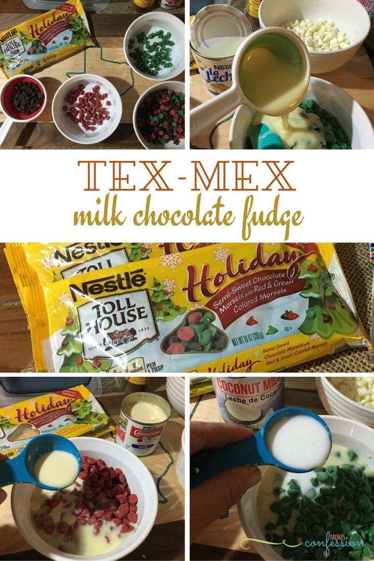 Tex-Mex Condensed Milk Fudge