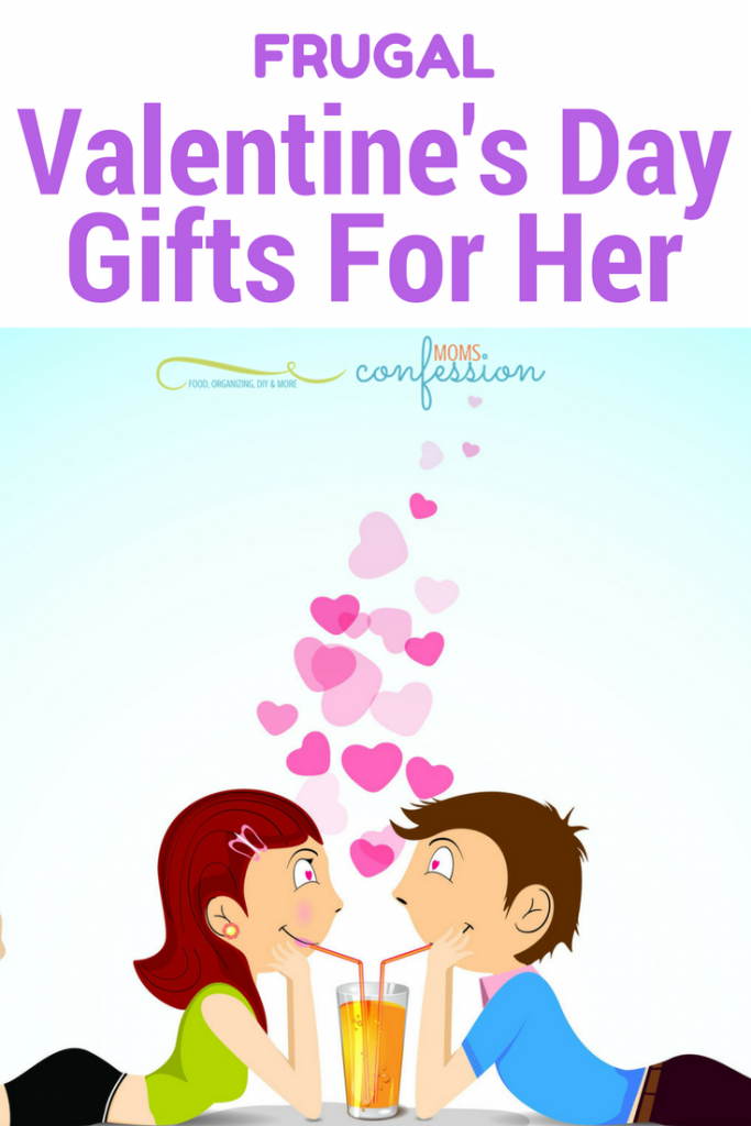 Don't miss these 7 Frugal Valentine's Day Gift Ideas for Women! Great unique ideas to fit into any budget that women will love receiving this year!