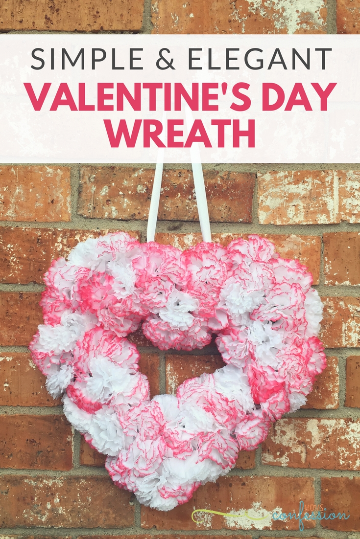 Simple & Elegant Valentine's Day Wreath