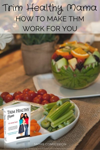 Make The Trim Healthy Mama Diet Work for You