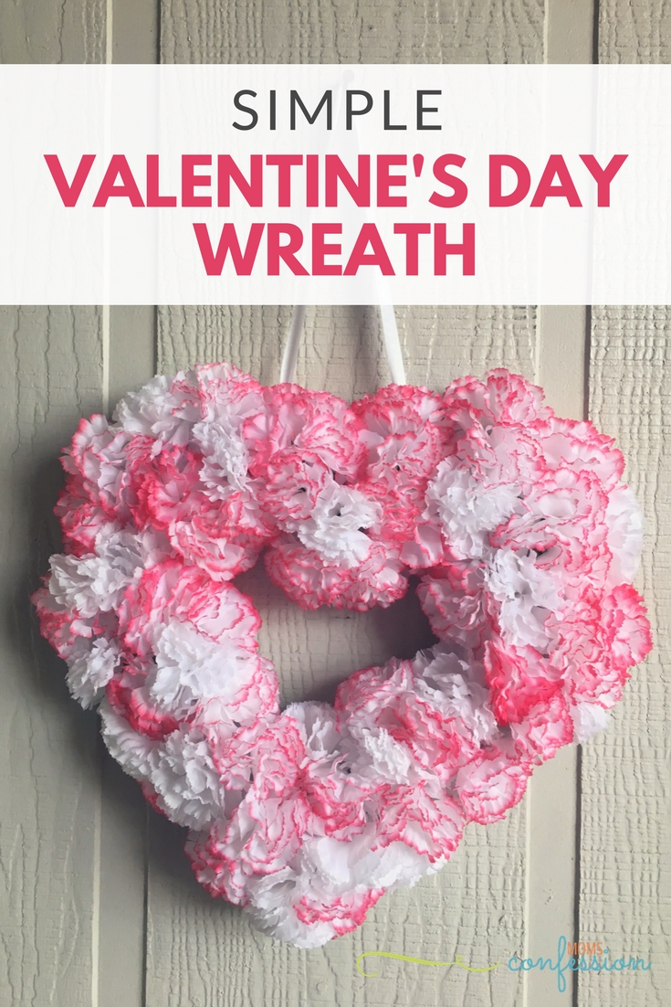 This simple and easy Valentine's Day Wreath is perfect for every home. With a few supplies, you can make this wreath for your home too!