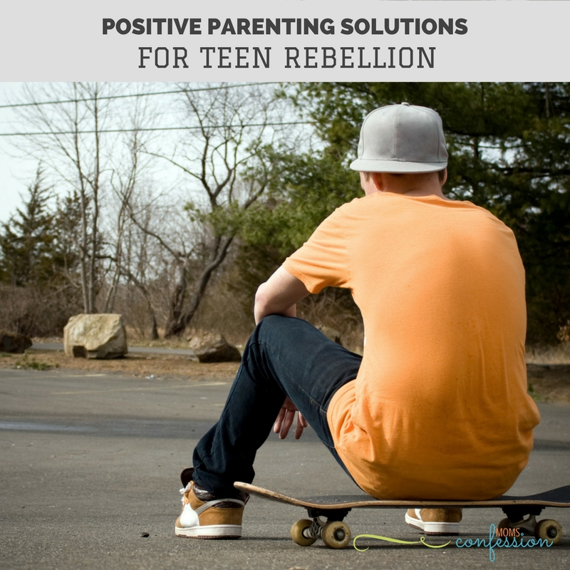 If you are dealing with teen rebellion, try our positive parenting solutions to work on your relationship with your teenager.