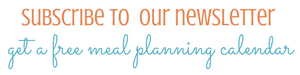 Subscribe to Moms Confession and get a Free Monthly Meal Plan Calendar Printable today!  MomsConfession.com